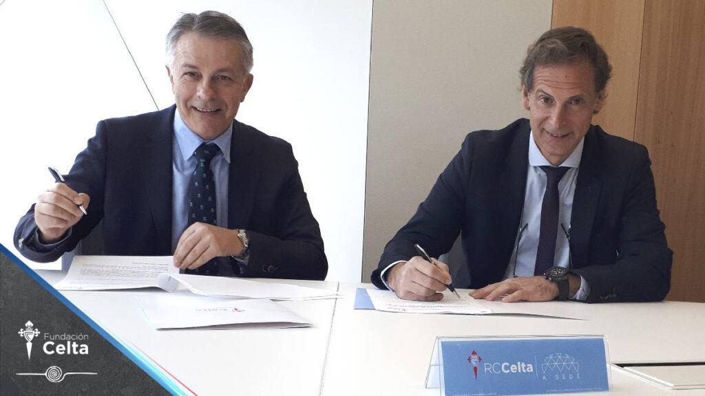 Campos y Rial y la Fundación Celta firman un convenio de colaboración